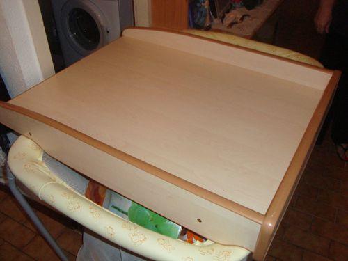 Table langer en bois pour pos e sur lit machine laver la boutique de sandra - Table a langer pour machine a laver ...