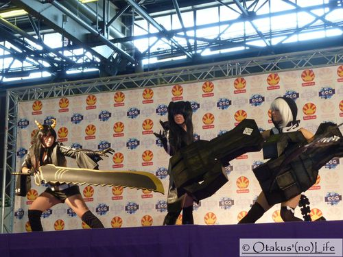 Japan Expo 2013 - Cosplay Black Rock Shooter (2)