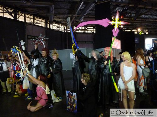 Japan Expo 2013 - Cosplay Kingdom Hearts