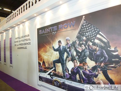 Japan Expo 2013 - Saints Row 4