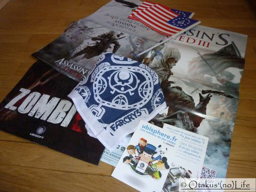 Paris Games Week 2012 - Goodies Ubisoft