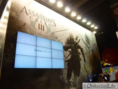 Paris Games Week 2012 - Assassin's Creed 3