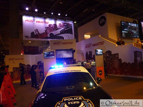 Paris Games Week 2012 - Need For Speed Most Wanted (2)