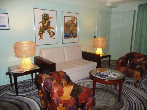 Lutetia chambre salon
