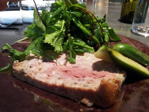 table paris terrine