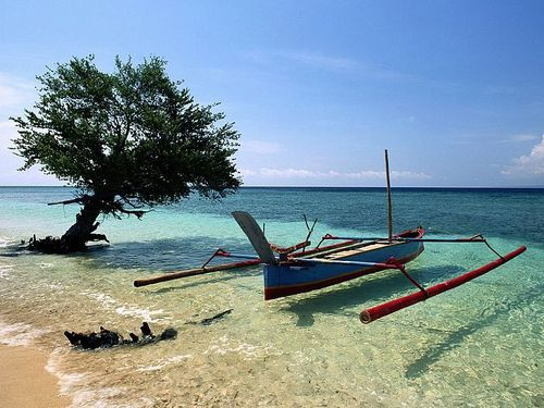 Beached Outrigger Thailand