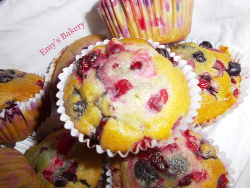 Muffins fruits rouge (2)