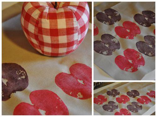 pommes peinture1