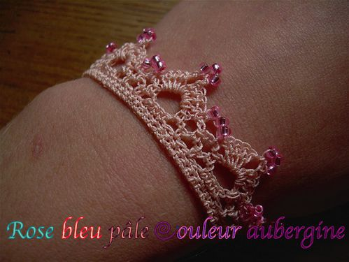 bracelet rose chaire 2