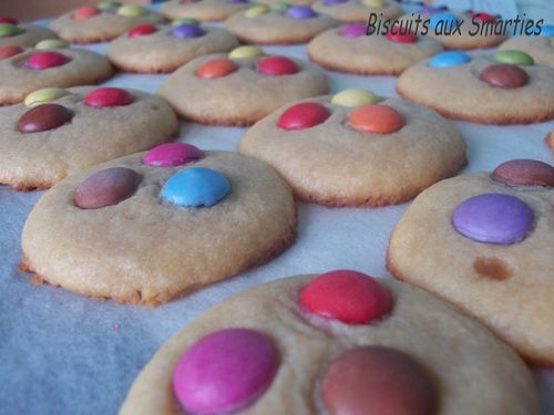 Biscuits aux Smarties 2