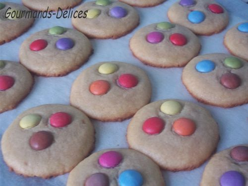 Biscuits aux Smarties