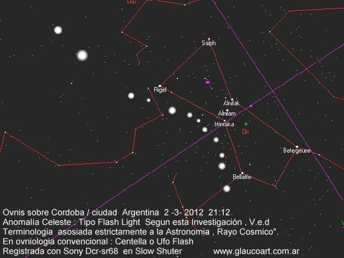 STARMAP2,3,12 MINTAKA CORDOBA