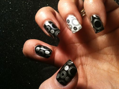 deco ongles ronds