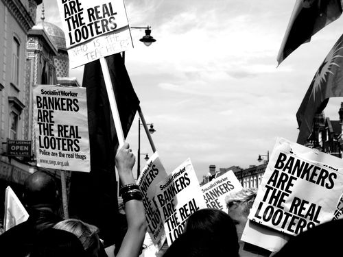 Bankers are the real looters