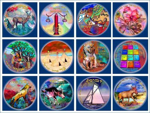 embleme 12 tribus