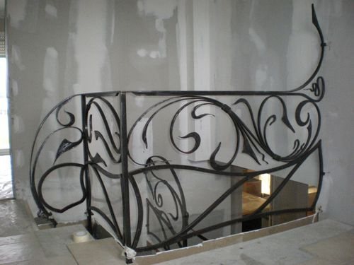 Rampe et garde corps de style art nouveau le blog de l for Art nouveau fenetre