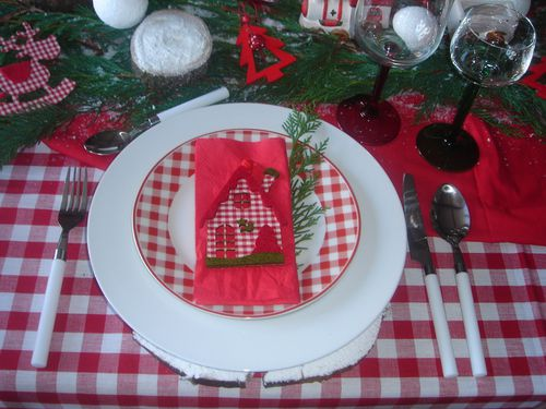 table de noel rouge et blanc (5)