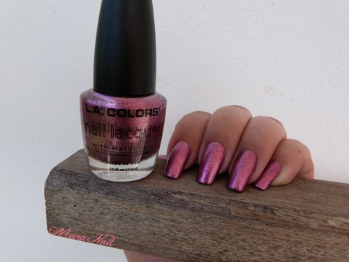 LA colors metallic pink 3
