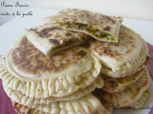 pains farcis cuits poele (2)