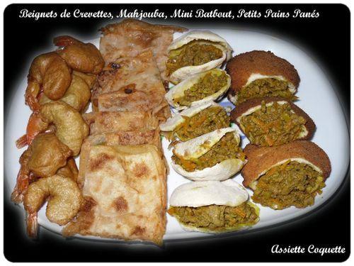 Plateau variés pr ramadan