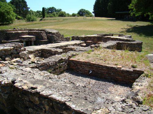 Fontaines salées - Salle de bains froid (frigidarium) - DSC04150