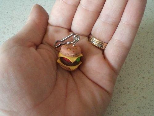 fimo hamburger