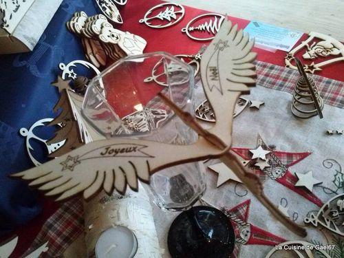 Cigogne magique Joyeux Noel
