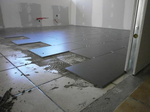 Epoxy sur carrelage photos de conception de maison for Carrelage passion