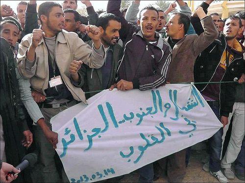Les jeunes chômeurs Algériens en lutte