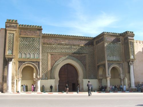 Meknes - La plus belle porte du Maroc