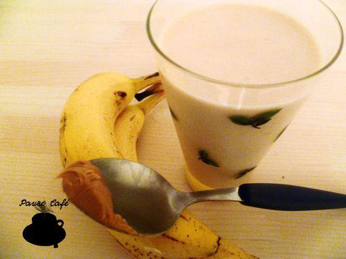 Smoothy peanut-banane 2