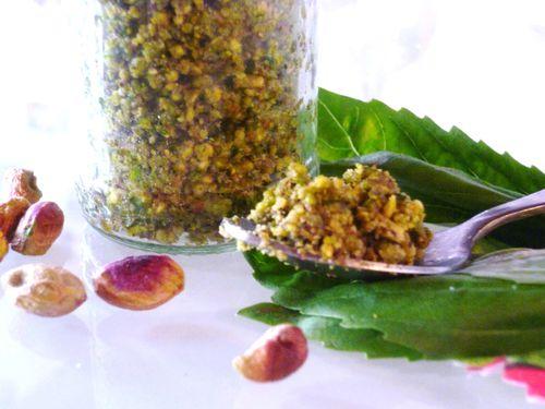 Pesto pistache 3