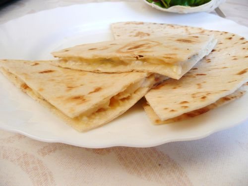 Quesadillas fromage 1