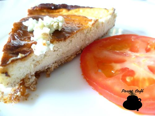 Cheese-cake roquefort 2