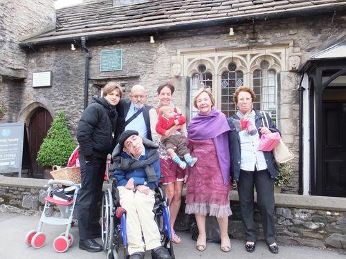 Il 1° maggio c'è chi si è sposato dalle parti di Kendal (Cumbria).Piccola cronaca del nostro matrimonio