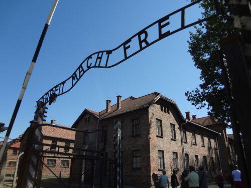 L'ingresso al campo di Auschwitz - Foto di Maurizio Crispi