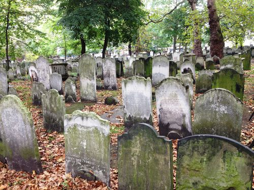 Le scoperte casuali. The Bunhill Fields Burial Grounds: un luogo antico, di pace e di riflessione
