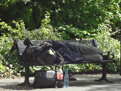 La panchina dell'Homeless