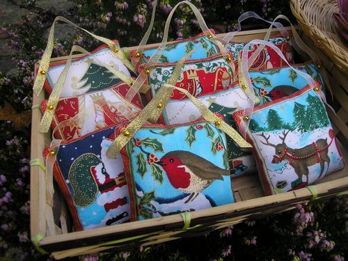 coussinets 2011 marché de Noel