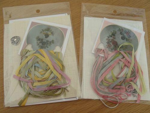 Les petits kits de Faby - Fils et rubans de soie (1)