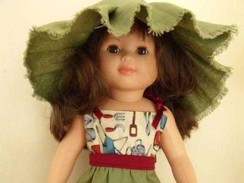 Modes et Travaux mai 1963 - Tenue jardinage chapeau (4)