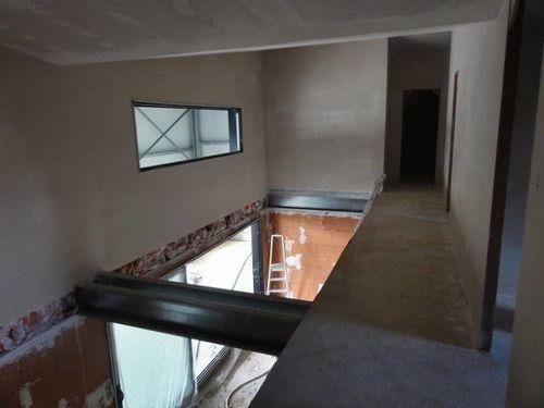 Le blog de un hangar loft a guerledan maison en structure m tallique - Maison dans hangar metallique ...
