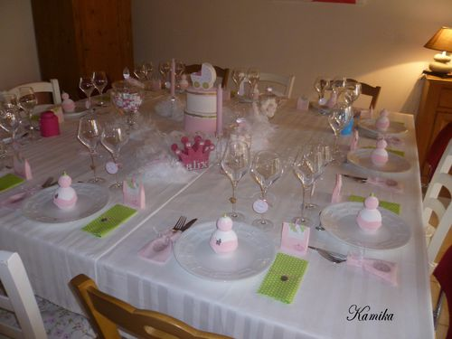 table princesse