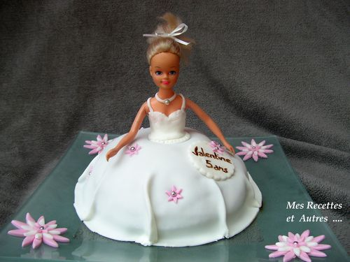 gateau barbie 1