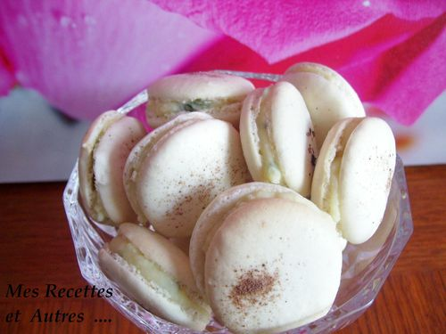 macarons choco blc basilic