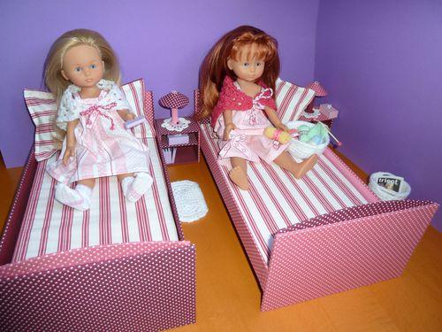 table de nuit poupée chérie corolle cartonnage 4