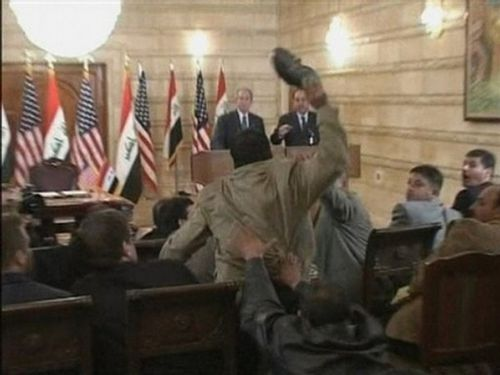 george w bush shoe throw01