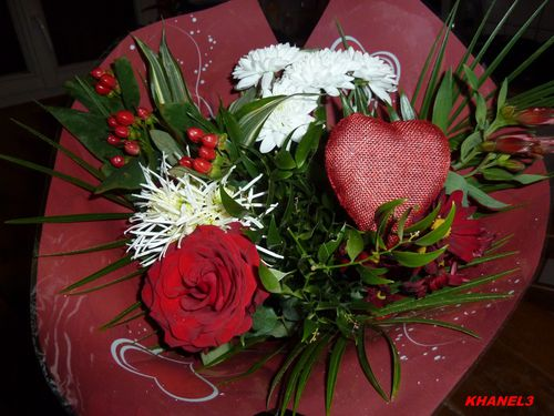 bouquet valentin