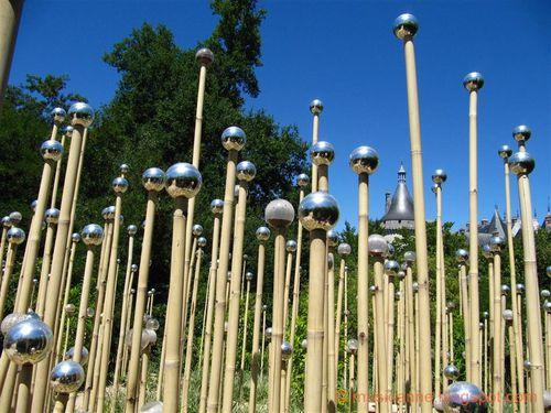 Des jardins qui jouent avec nous le blog de anne art for Que peut on faire avec du bambou