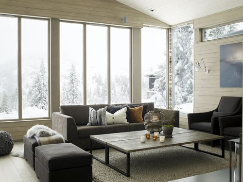 un chalet contemporain pr s de lillehammer a part a. Black Bedroom Furniture Sets. Home Design Ideas